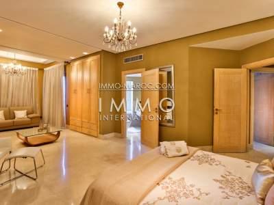 Vente appartement Contemporain haut de gamme Marrakech Hivernage