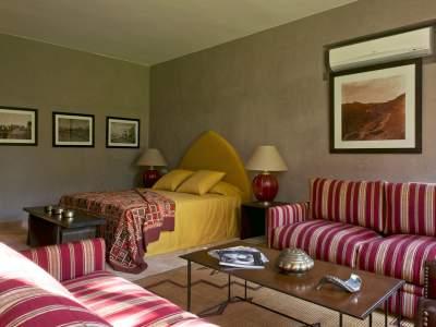 Location villa Marocain épuré Marrakech Golfs Amelkis