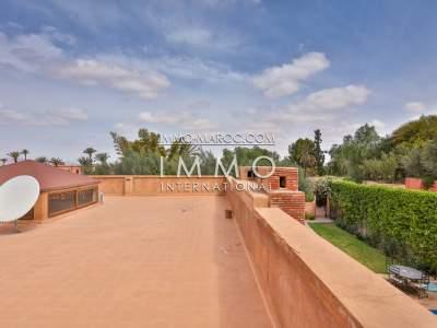 Maison à louer Marocain épuré Marrakech Palmeraie Bab Atlas