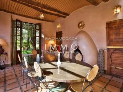 Villa à vendre Marocain épuré agence immobiliere de luxe marrakech Marrakech Palmeraie