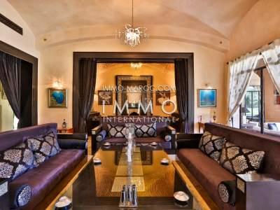 Vente villa Marocain immobilier de luxe marrakech Marrakech Palmeraie