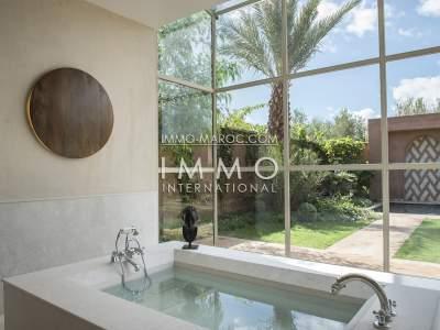 Vente villa Moderne luxueuses Marrakech Extérieur Route Fes