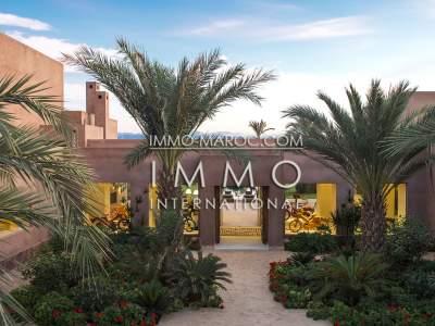 Maison à vendre Moderne haut de gamme Marrakech Extérieur Route Fes