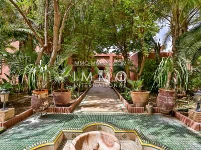 Luxury villa for sale Marrakech Palmeraie