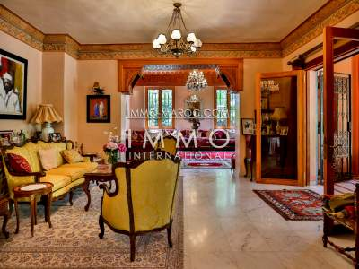 House for sale Moroccan high end Marrakech Palmeraie
