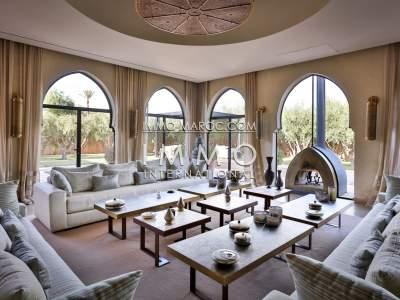 Luxury villa for sale in Marrakech Palmeraie