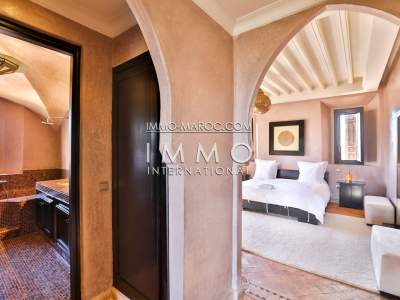 Villa for sale Moroccan refined luxury Marrakech Palmeraie