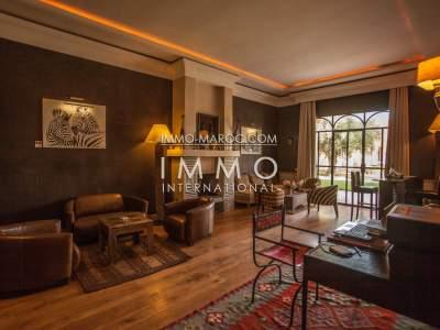 vente villa de luxe marrakech