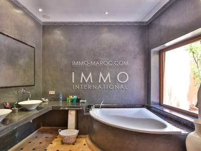 Vente villa Marocain épuré biens de prestige marrakech Marrakech Palmeraie
