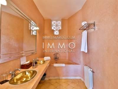 Vente maison Marocain luxe Maison d'hôtes Marrakech Palmeraie