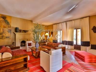 vente villa de luxe palmeraie marrakech