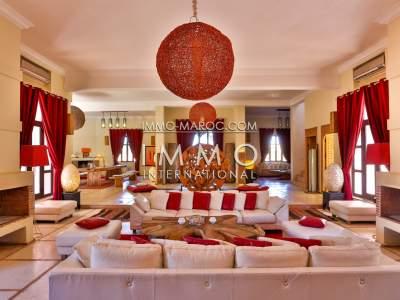Maison à vendre Moderne prestige a vendre Marrakech Extérieur Route Fes