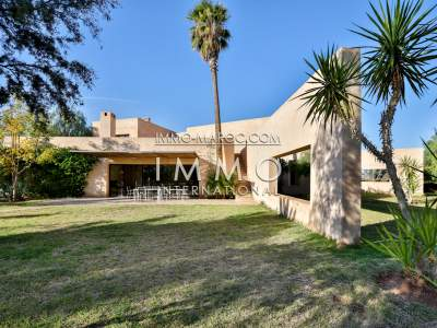 Vente maison Moderne Marrakech Palmeraie