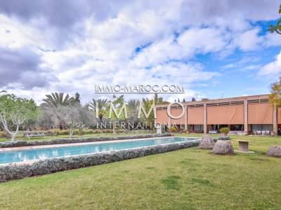 Villa à vendre Moderne Marocain immobilier luxe à vendre marrakech Marrakech Palmeraie Circuit Palmeraie