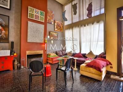 Achat villa Moderne Marocain biens de prestige marrakech Marrakech Palmeraie Circuit Palmeraie