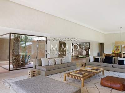 Vente maison Moderne Prestige Marrakech Golfs