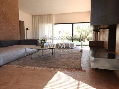 Sale villa upscale contemporary Marrakech Golfs