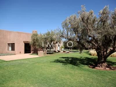 Sale villa Modern luxury Marrakech Golfs