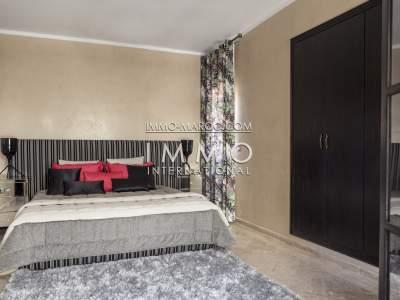 Achat villa Marocain épuré Marrakech Palmeraie