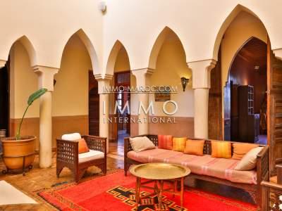 Vente maison Marocain Prestige Maison d'hôtes Marrakech Palmeraie
