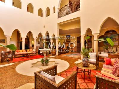 Achat villa Marocain Maison d'hôtes Marrakech Palmeraie