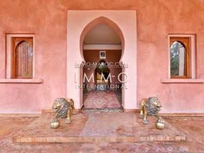 Maison à vendre Marocain luxe Maison d'hôtes Marrakech Palmeraie