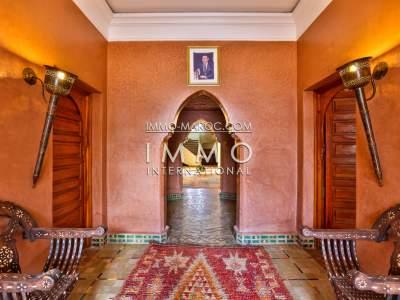 Villa à vendre Marocain prestige a vendre Maison d'hôtes Marrakech Palmeraie
