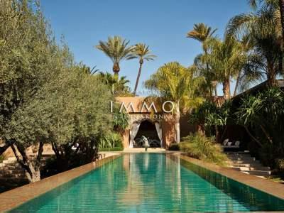 Vente maison Marocain Marrakech Palmeraie Circuit Palmeraie