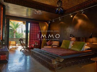 villa vente Marocain Marrakech Palmeraie Circuit Palmeraie