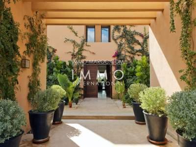 Villa à vendre Contemporain Prestige Marrakech Golfs Al Maaden