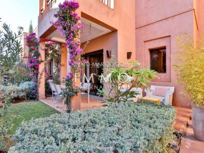 Appartement à vendre Marocain épuré Marrakech Golfs