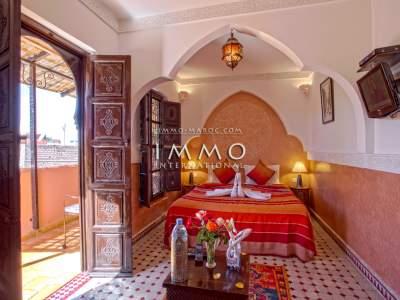 ryad luxe Maison d'hôtes Marrakech Place Jamaa El Fna Dabachi