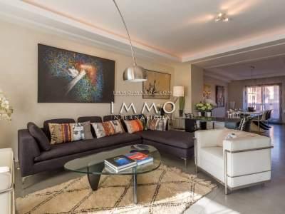 Appartement à vendre Contemporain Marrakech Centre ville Majorelle