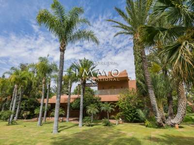 Achat villa Local Commercial luxe Marrakech Palmeraie Bab Atlas