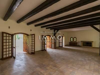 Villa à vendre Local Commercial agence immobiliere de luxe marrakech Marrakech Palmeraie Bab Atlas