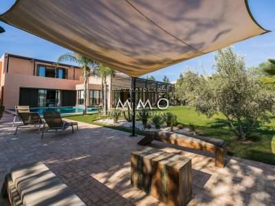 Maison à vendre Moderne prestige a vendre Marrakech Golfs Al Maaden