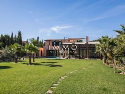 Achat villa Contemporain propriete luxe marrakech à vendre Marrakech Golfs Al Maaden