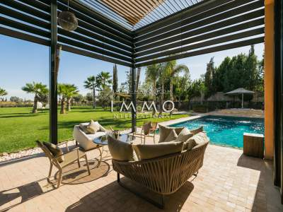 Vente villa Moderne biens de prestige Marrakech Golfs Al Maaden