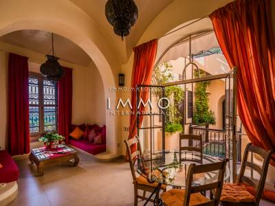Vente villa Marocain épuré Marrakech Palmeraie Circuit Palmeraie