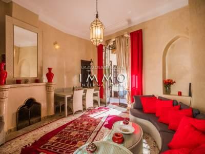 villa achat Marocain épuré Marrakech Palmeraie Circuit Palmeraie