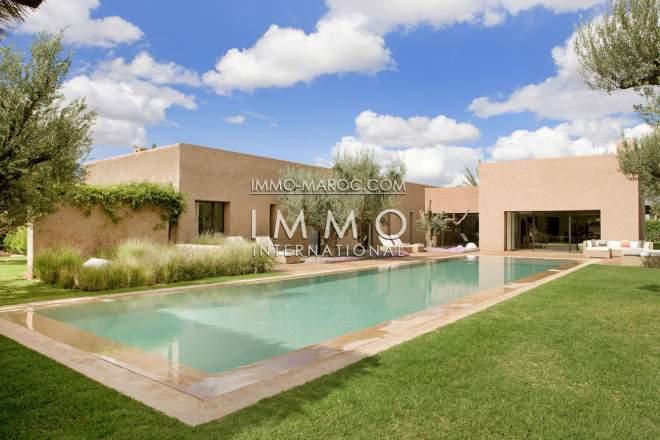 villa de luxe a vendre dans un programme neuf [ImmoMaroc]