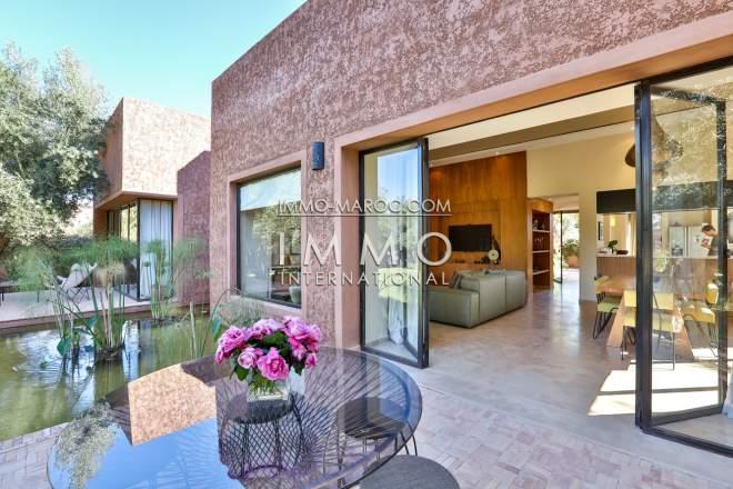villa contemporaine a vendre a marrakech   [ImmoMaroc]