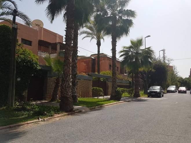 villa a vendre a l hivernage marrakech immomaroc. Black Bedroom Furniture Sets. Home Design Ideas