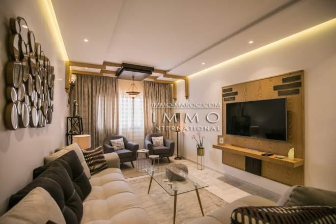 Elegant Vente Appartement Contemporain Marrakech Centre Ville Guéliz