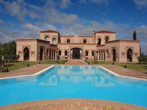 Achat villa demeure de prestige Marrakech Extérieur