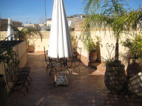 Riad à vendre maison d'hôtes Marrakech Place Jamaa El Fna Ksour
