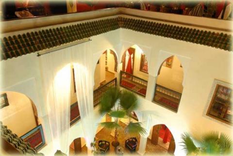 achat riad maison d'hôtes Marrakech Place Jamaa El Fna Dar El Bacha