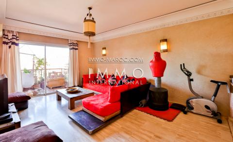 Vente appartement Marocain épuré Marrakech Centre ville