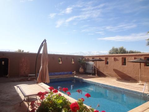 Villa à vendre Marocain Marrakech Extérieur Route Ourika