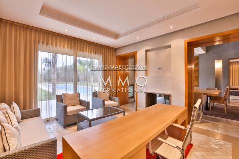 Villa à louer Moderne Marrakech Palmeraie Circuit Palmeraie